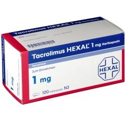 TACROLIMUS Hexal 1 mg