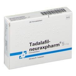 TADALAFIL-neuraxpharm 5 mg Filmtabletten