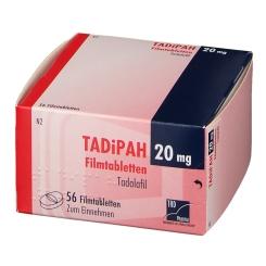 TADIPAH 20 mg Filmtabletten