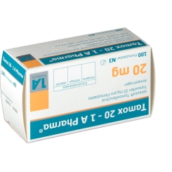 Tamox 20 1A Pharma Filmtabletten