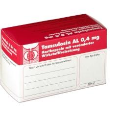 Tamsulosin Al 0,4 mg mit veränderten Wirkstoff Freisetzung