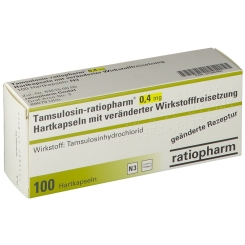 TAMSULOSIN ratiop.0,4mg