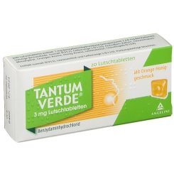 Tantum Verde® 3 mg-Pastillen Honig-Orange