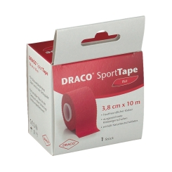 Tapeverband 10mx3,8cm rot