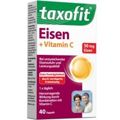 taxofit® Eisen + Vitamin C Kapseln