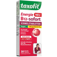 taxofit® Energie B12-Sofort