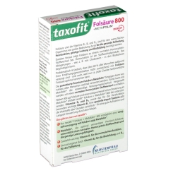 taxofit® Folsäure + Metafolin 800 Depot Tabletten
