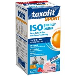 taxofit® Sport Iso Energie Drink rote Beeren