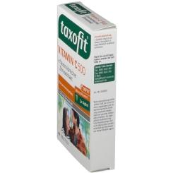 taxofit® Vitamin C 500 + flavonoidreicher Zitrusextrakt Depot Tabletten