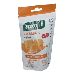 taxofit® Vitamin C + Zink Softchews Orange