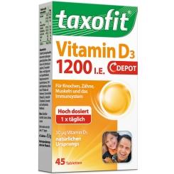 Taxofit® Vitamin D3 1200 I.E. Depot