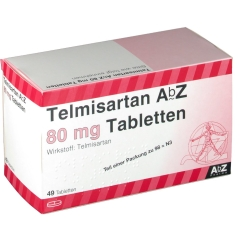 TELMISARTAN AbZ 80 mg Tabletten