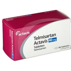TELMISARTAN Actavis 40 mg Tabletten