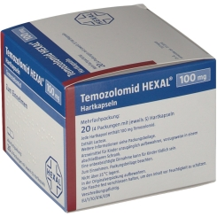 TEMOZOLOMID HEXAL 100MG