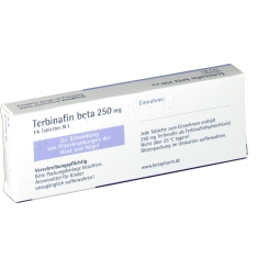 TERBINAFIN beta 250 mg