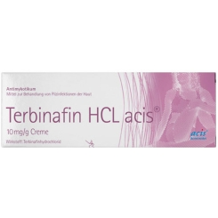 Terbinafin HCL acis® 10 mg/g Creme