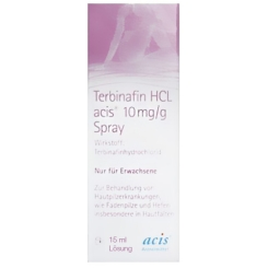 Terbinafin HCL acis® 10mg/g Spray