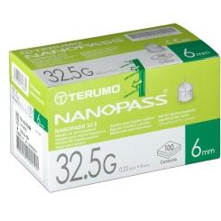 TERUMO® NANOPASS® 32.5G 0,22 x 6 mm