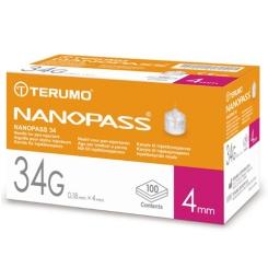 Terumo Nanopass Penkanülen 34G