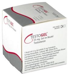 Testogel 25 mg Gel im Beutel