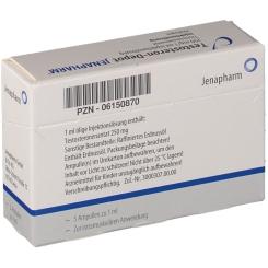 Testosteron depot Jenapharm Ampullen