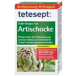 tetesept® Galle-Dragee mit Artischocke