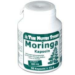 The Nutri Store Moringa Oleifera 500 mg