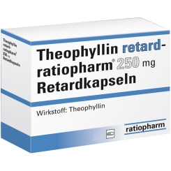 Theophyllin retard ratioph. 250 mg Kapseln