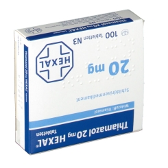 Thiamazol 20 mg Hexal Tabletten