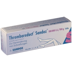 Thrombareduct Sandoz 100 000 I.e. Salbe