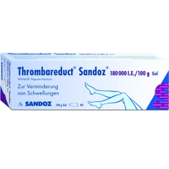 Thrombareduct Sandoz 180 000 I.e. Gel
