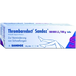 Thrombareduct Sandoz 180 000 I.e. Salbe