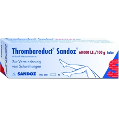 Thrombareduct Sandoz 60 000 I.e. Salbe