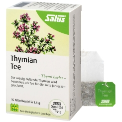 THYMIAN TEE Kraeutertee Thymi herba bio Salus