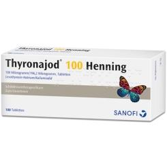 Thyronajod 100 Henning Tabl.