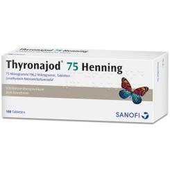 Thyronajod 75 Henning Tabletten