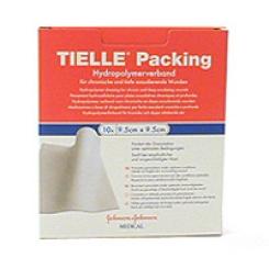 TIELLE® Packing Schaumstoff-Wundauflage steril 9,5 x 9,5 cm