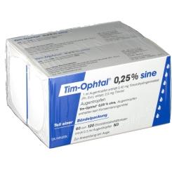 Tim Ophtal 0,25% sine Augentropfen