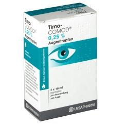 Timo Comod 0,25% Augentropfen