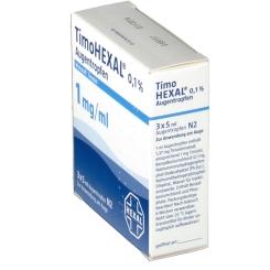 Timohexal 0,1% Augentropfen
