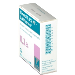 TIMOLOL 0,1% AT 1A Pharma