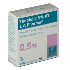 TIMOLOL 0,5% AT 1A Pharma