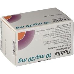 TIOBLIS 10 mg/20 mg Filmtabletten