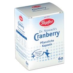 Töpfer Dr. Nowack´s Cranberry Kapseln