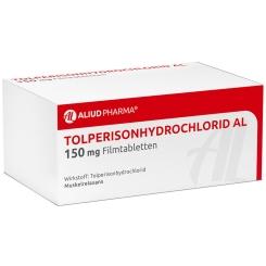 TOLPERISON Hydrochlorid AL 150 mg