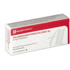 TOLPERISON Hydrochlorid AL 50 mg