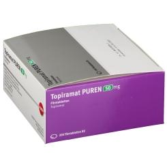 TOPIRAMAT PUREN 50 mg Filmtabletten