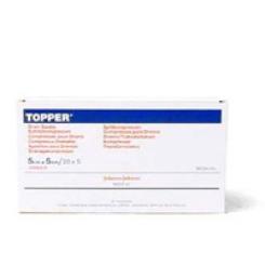 TOPPER® Schlitzkompressen steril 5 x 5 cm
