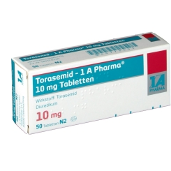 Torasemid 1a Pharma 10 mg Tabl.