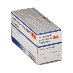 Torasemid ratiopharm 10 mg Tabl.